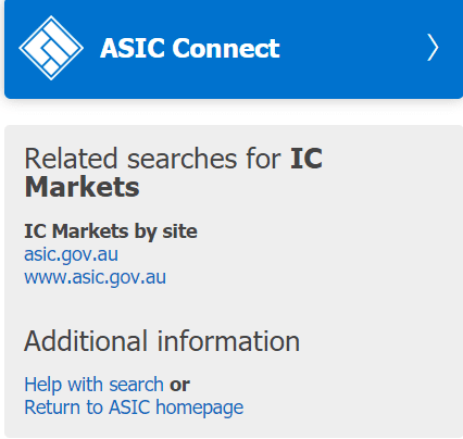 IC Markets regulación ASIC