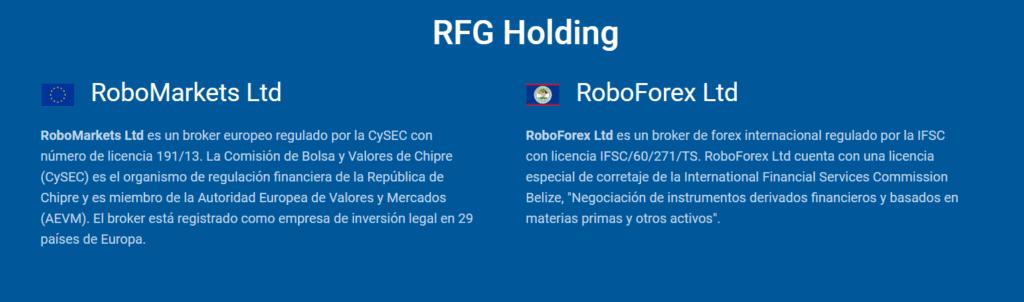 roboforex regulaciones
