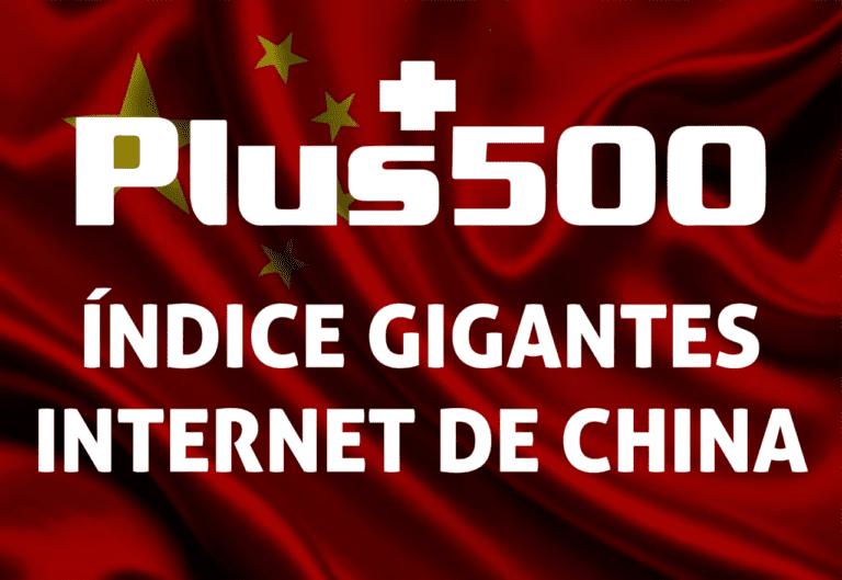 índice de los gigantes de internet de China