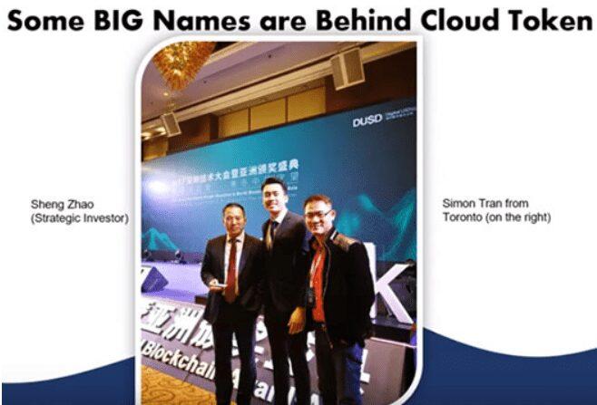 Grandes inversores Cloud Token cloud token estafa cloud token wallet cloudtoken billetera hora token