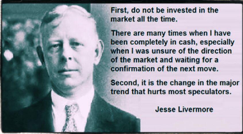 Palabras y pensamientos de Jesse Livermore sobre trading