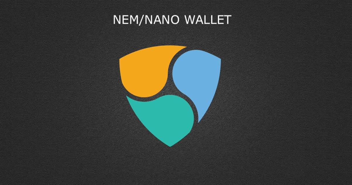 ¿Qué es NEM Nano Wallet?