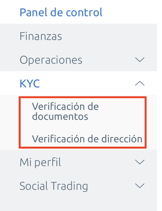 verificación de documentos EverFX Global