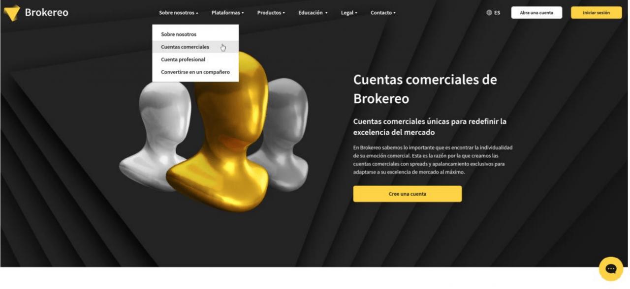cuentas brokereo